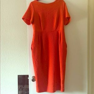 Soft Coral ASOS Dress